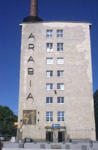Arabia Hämeenkatu 156 saneerauslaattojen valmistaminen
